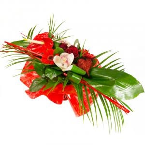Ame soeur Bouquet longueur composé de germinis