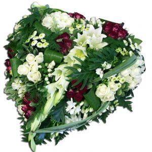 Coeur souvenir - deuil  60 cm Par Occasion > Deuil