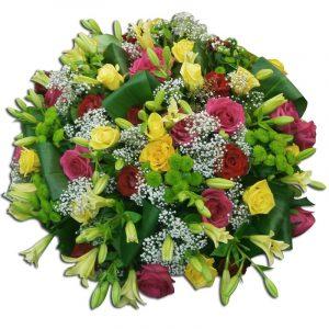 Coussin de fleurs-deuil 70 Par Occasion Deuil