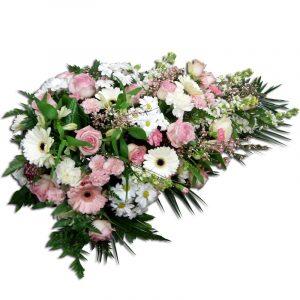 Floralement- gerbe deuil 90-95 cm Par Occasion Deuil