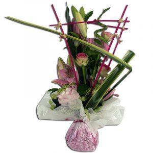 Géométrie Bouquet composé de roses