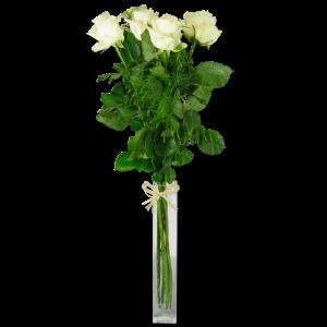 Grandes roses blanches 15 Roses Par Occasion Fleurs Saint Valentin