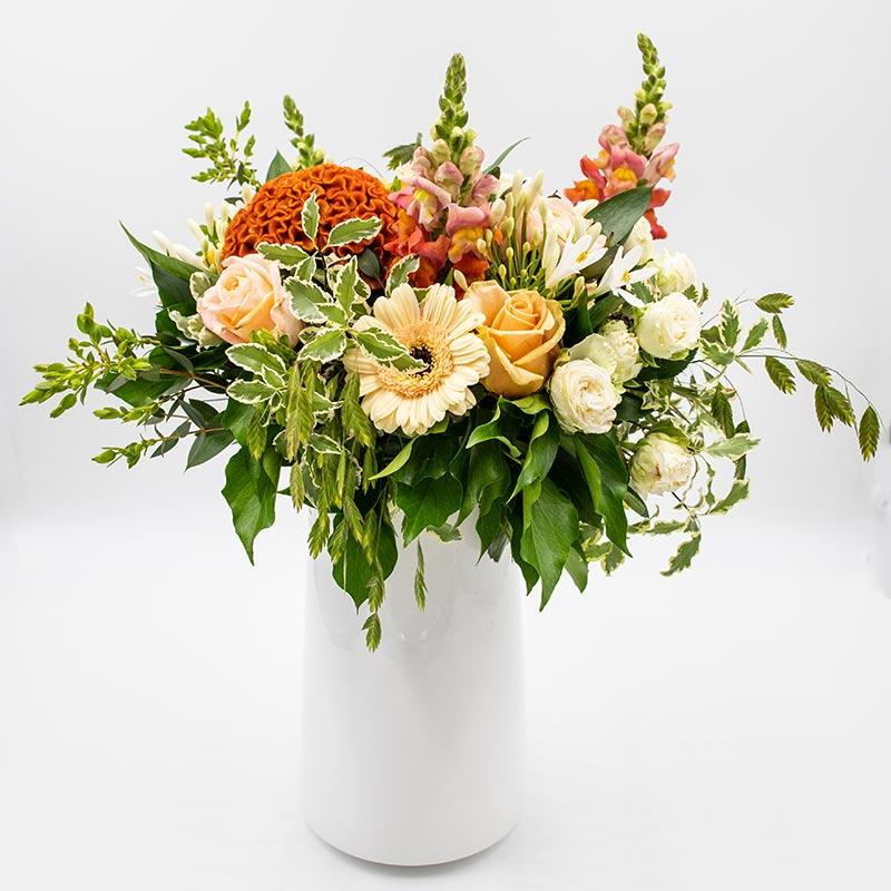 Pêché mignon Elégant bouquet de roses
