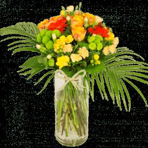 aurore bouquet de fleurs
