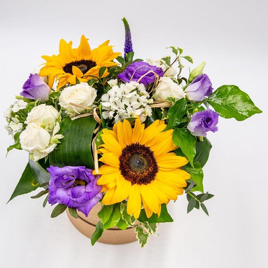 Folie printanière Composition florale pétillante