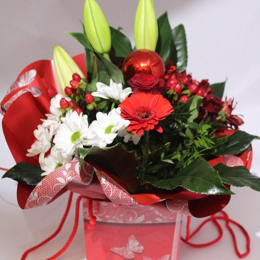 Noël en fleurs  Généreux Noël & Fleurs