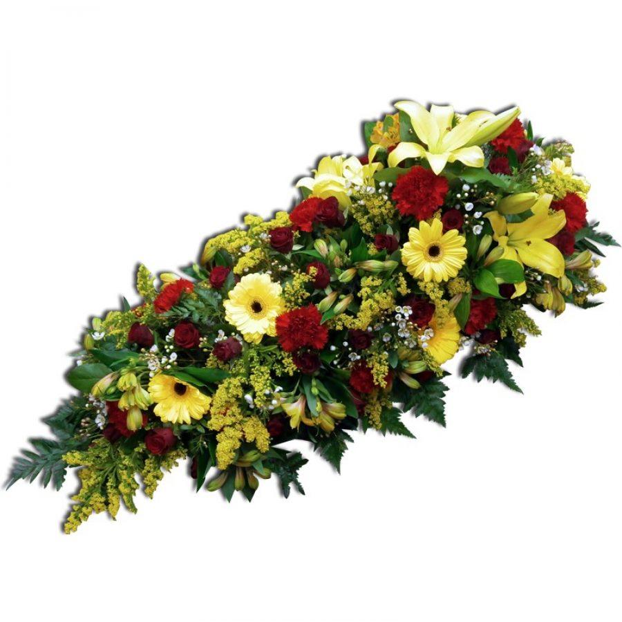 Raquette florale deuil 120 cm Par Occasion Deuil