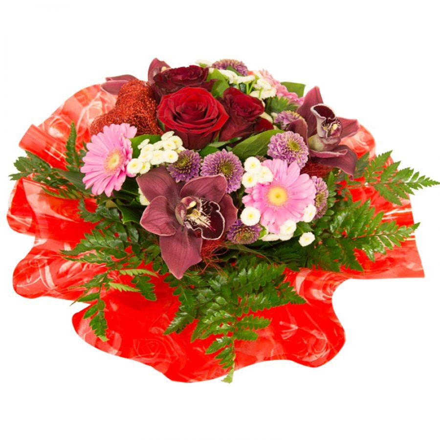 Saint Valentin  Généreux Bouquets