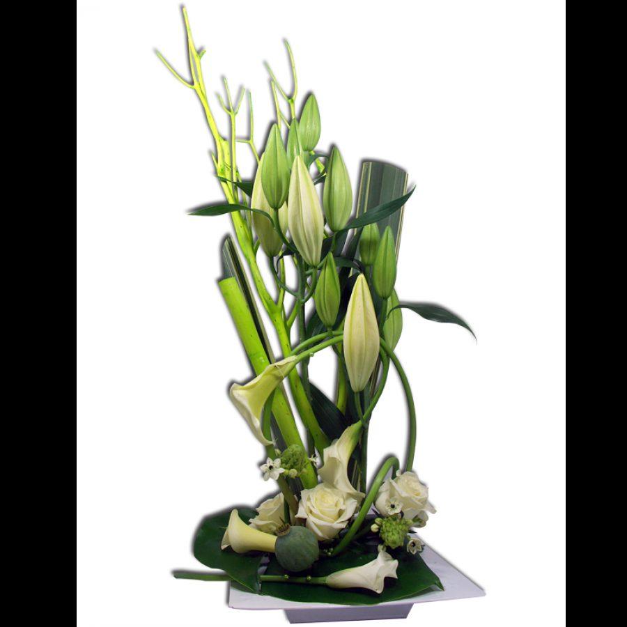 Saphir blanc Pour créer la surprise d'une manière sensible et originale