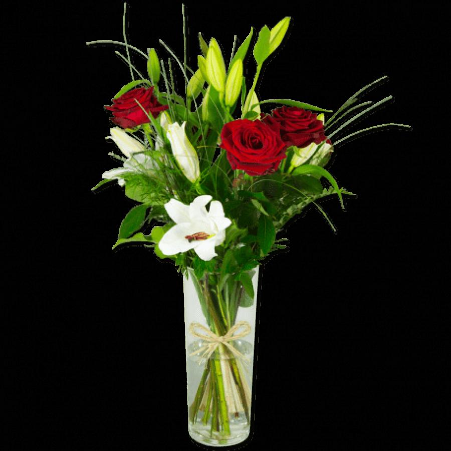 elan-romantique-bouquet-de-lys-blanc-et-roses-rouges